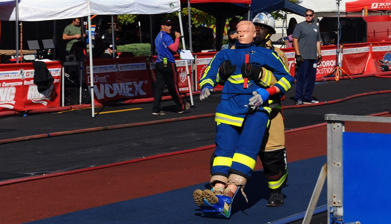 Academy firefighters douse competition to take 'World's Best' title