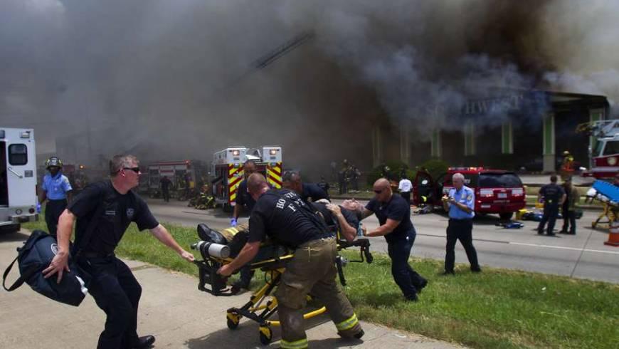 Houston FD Honors Firefighters Killed in Southwest Inn Fire