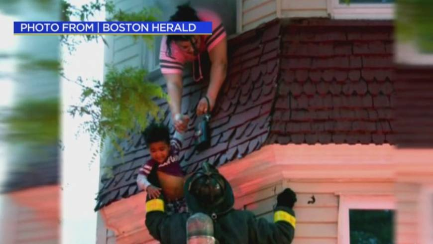 Firefighter Mother Describe Rescue From Dorchester