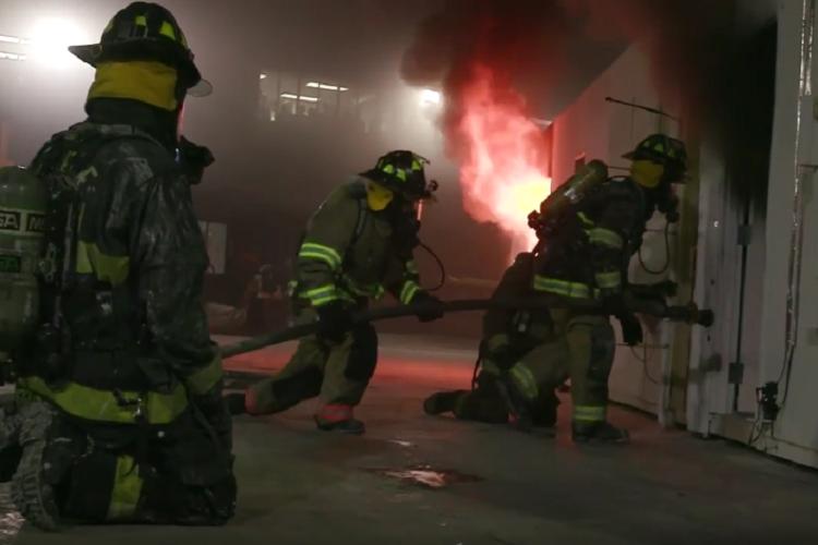 Interior & Exterior Fire Attack