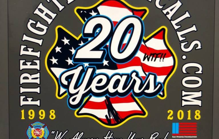 CELEBRATING 20 YEARS FIGHTING FIREFIGHTER CANCER