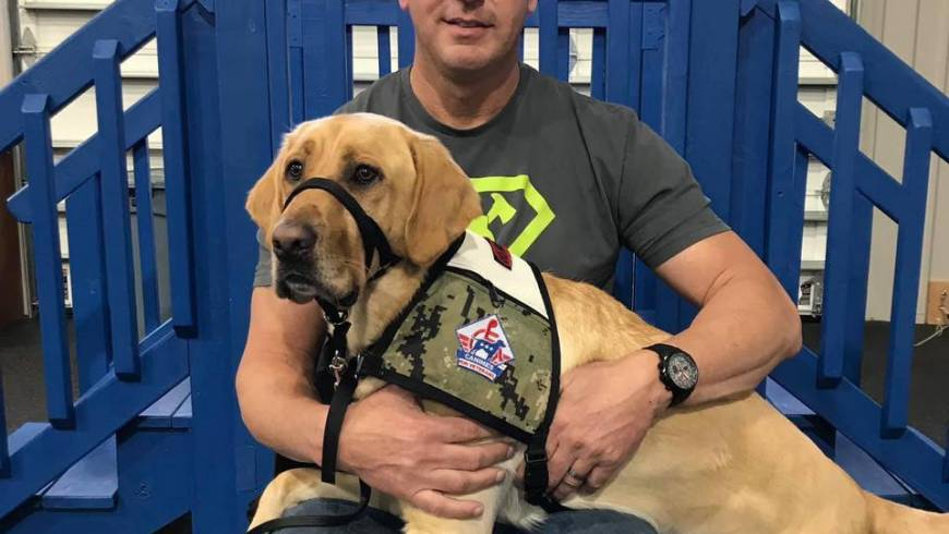 Service Dogs, Behavioral Activation, and PTSD treatment