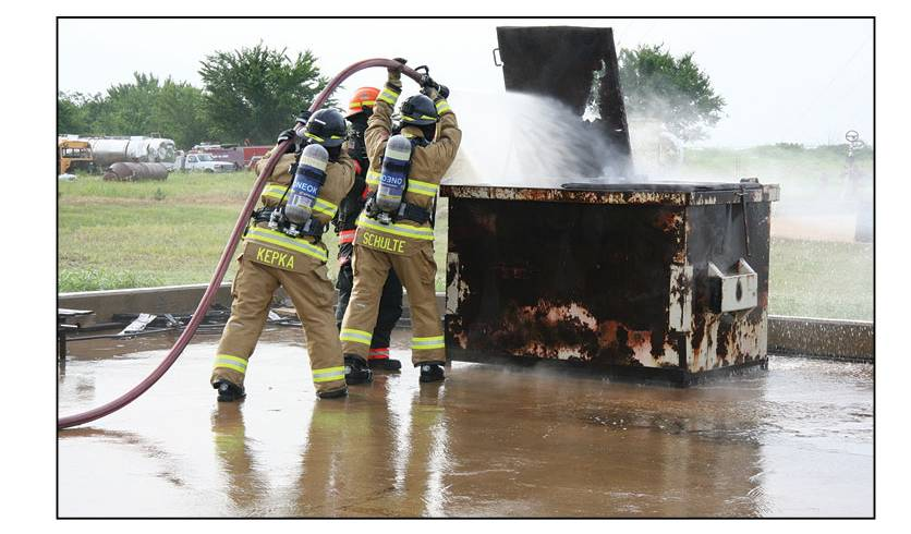 New Training Text on Facility Fire Brigades