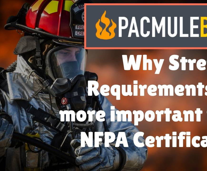 PACMULE SAFETY CERTIFICATIONS