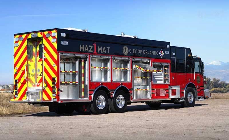 Fire Department Expands Operational Capabilities with SVI-Built Hazmat Unit