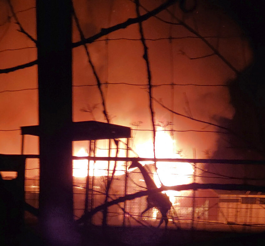 10 Animals Killed in Barn Fire at OH Wildlife Park