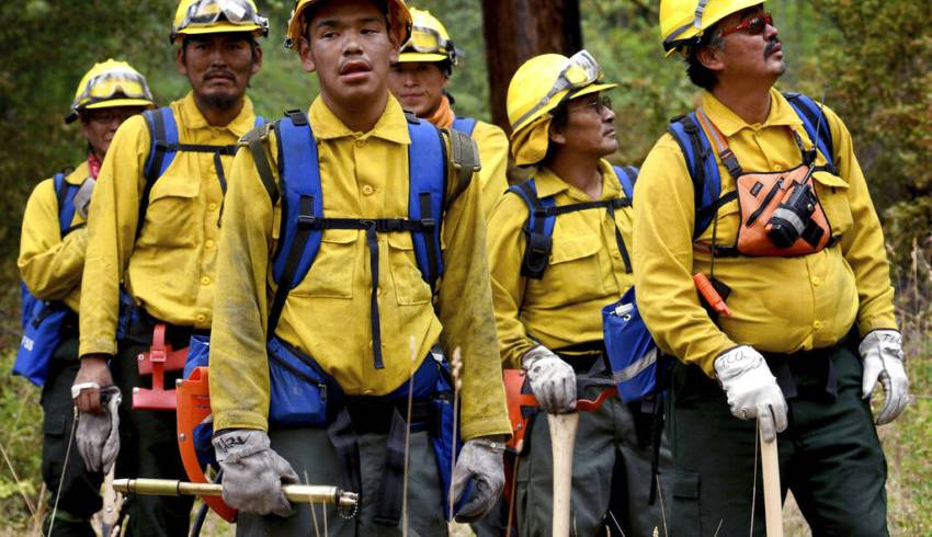 U.S. Report Predicts Broad Risk of COVID-19 at Wildfire Camps