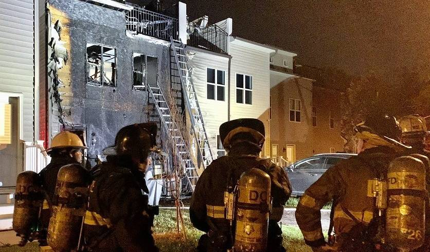 Seven Displaced After Washington, D.C., House Fire
