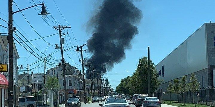 Five-Alarm Paterson (NJ) Fire Damages Multiple Homes