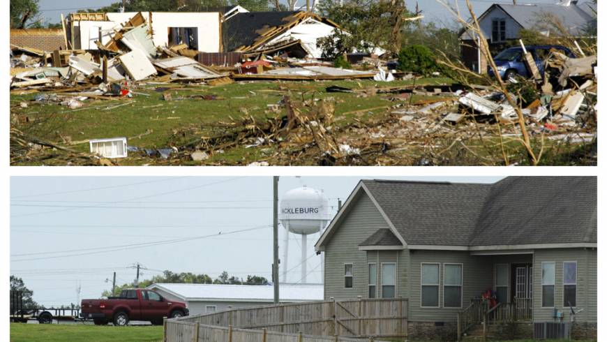Pain, Loss Linger a Decade after Tornadoes Hammer Six States