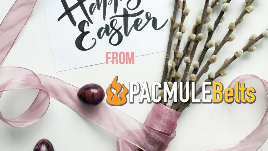 Happy Easter from PacMule Belts