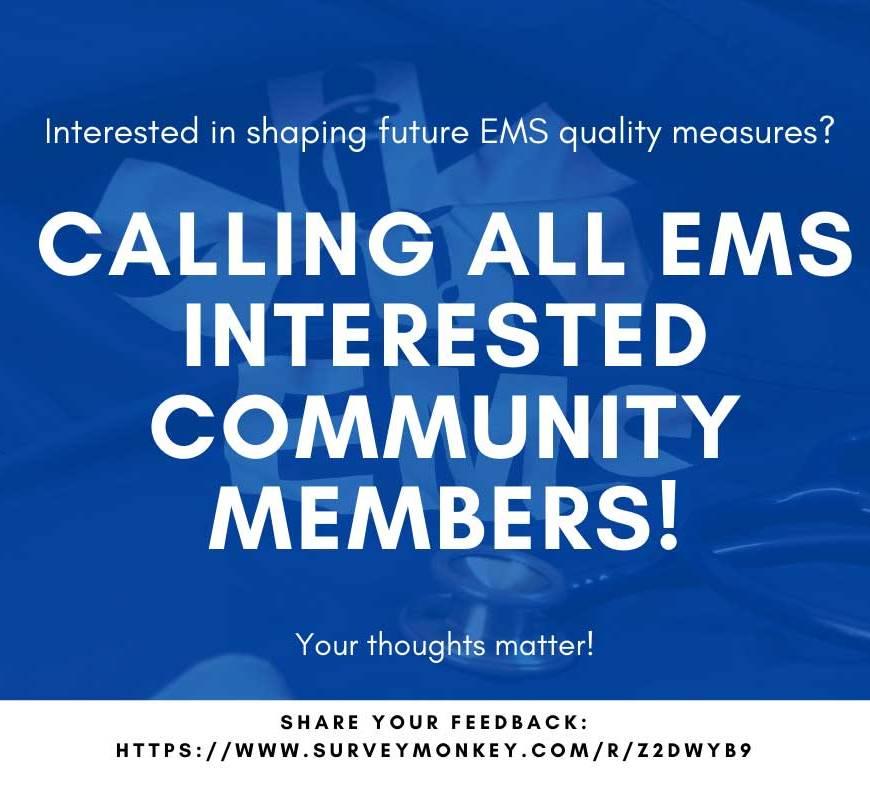 NEMSQA Invites Public Comment on F.A.I.R. EMS Measurement Project